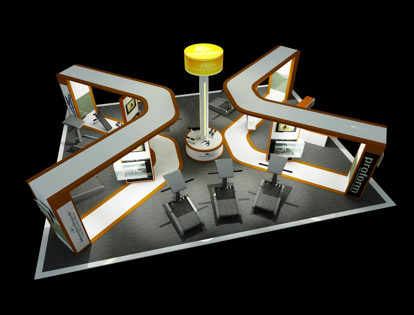 Exhibition Booth Design : Exhibition booth design by lawrence parir at coroflot