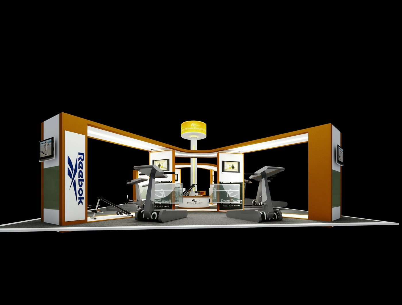 Exhibition Booth Concept : Exhibition booth design by lawrence parir at coroflot