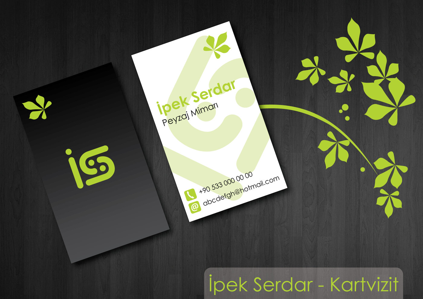 Business cards by plus one at coroflot ipek serdar business card ipek serdar is an landscape architecture and this is one of the samples we designed for her magicingreecefo Images