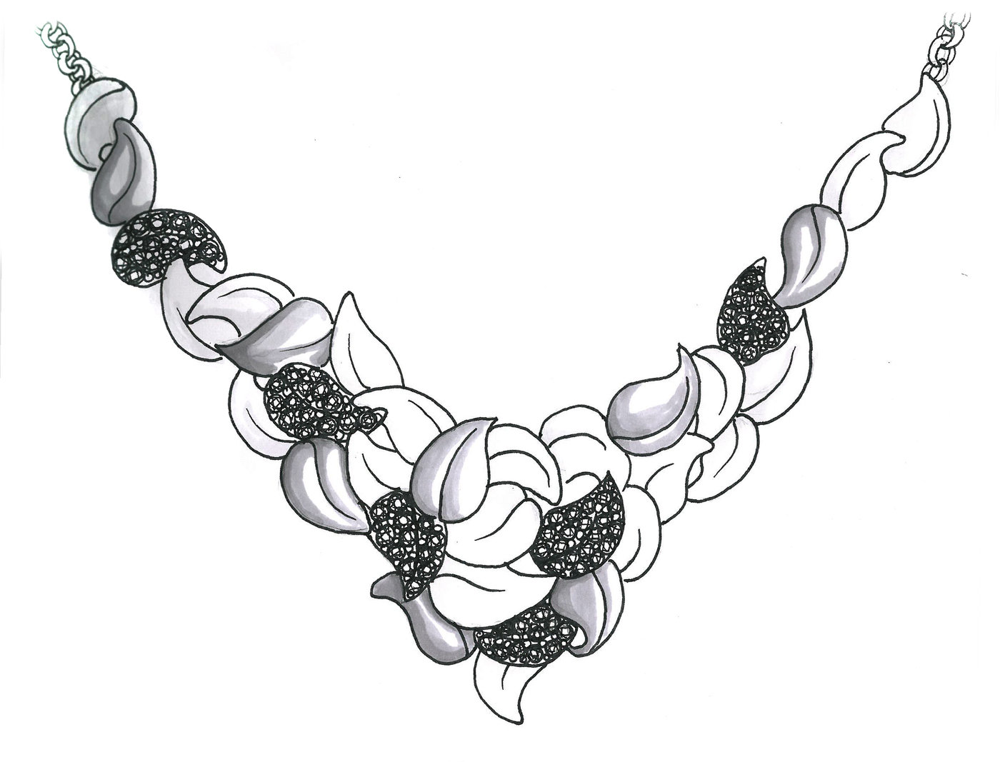 Jewelry Sketches Amp Renders By Ashley Warsaw At Coroflot Com