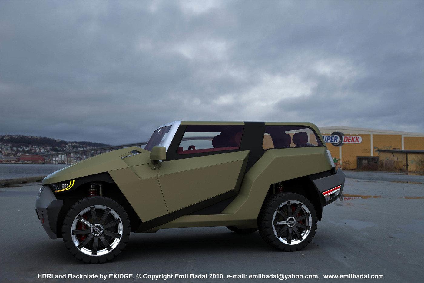 Hummer Rhino Concept By Emil Baddal At Coroflot Com