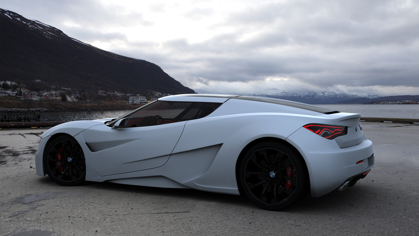 BMW GT Concept by Emil Baddal at Coroflot
