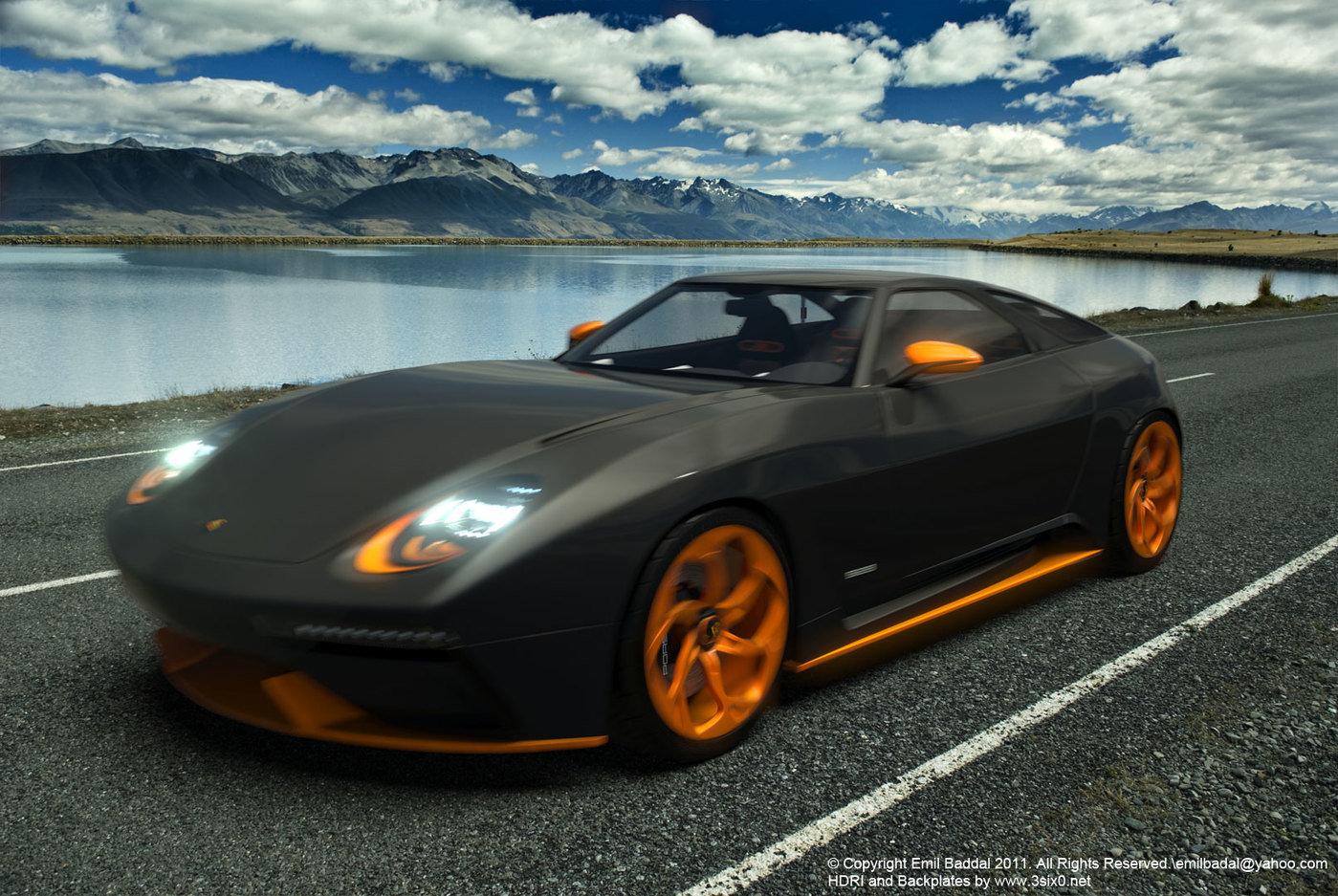 Porsche 928 Concept By Emil Baddal At Coroflot Com