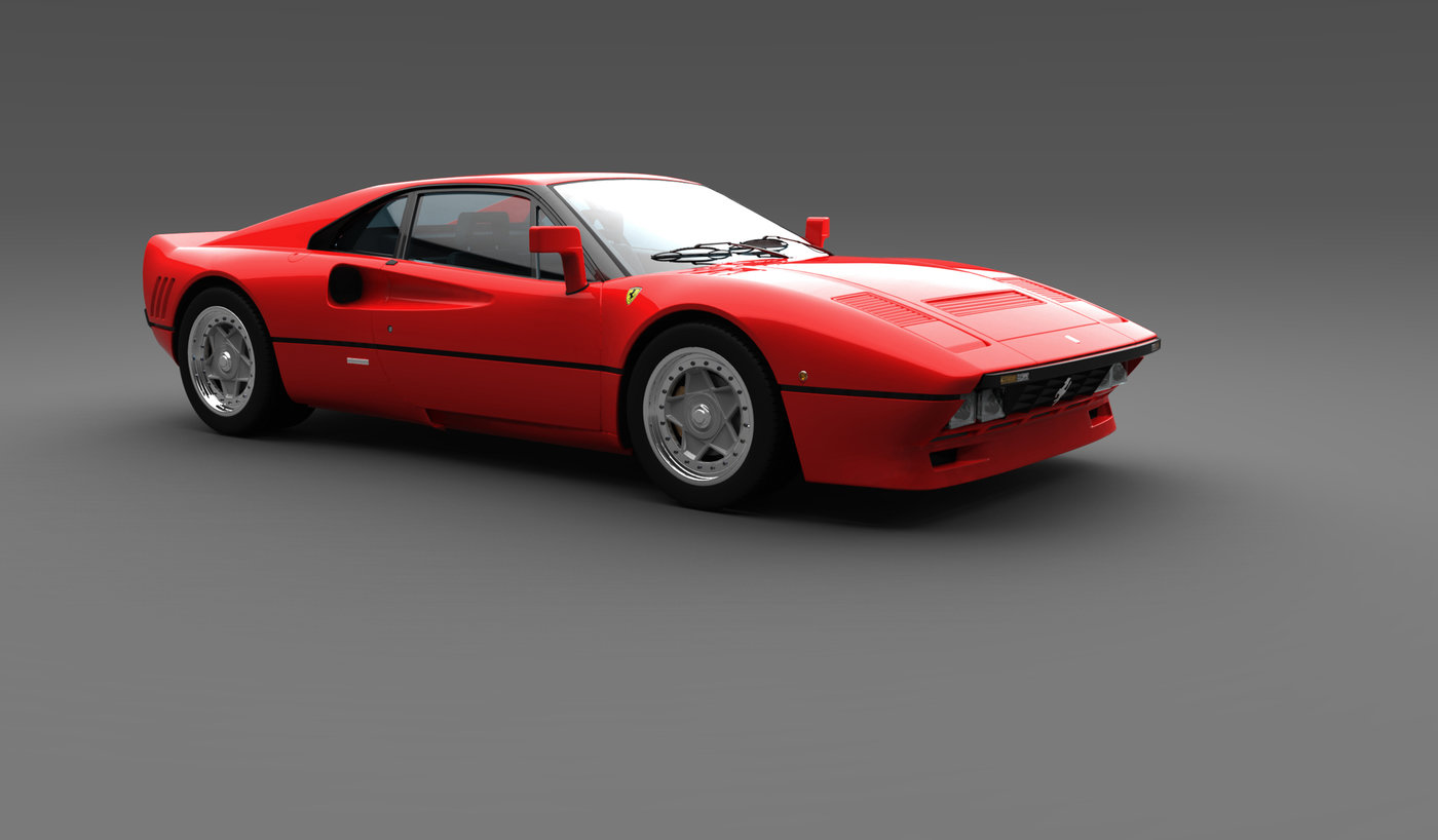 ferrari 288 gto by mauro lecchi at. Black Bedroom Furniture Sets. Home Design Ideas