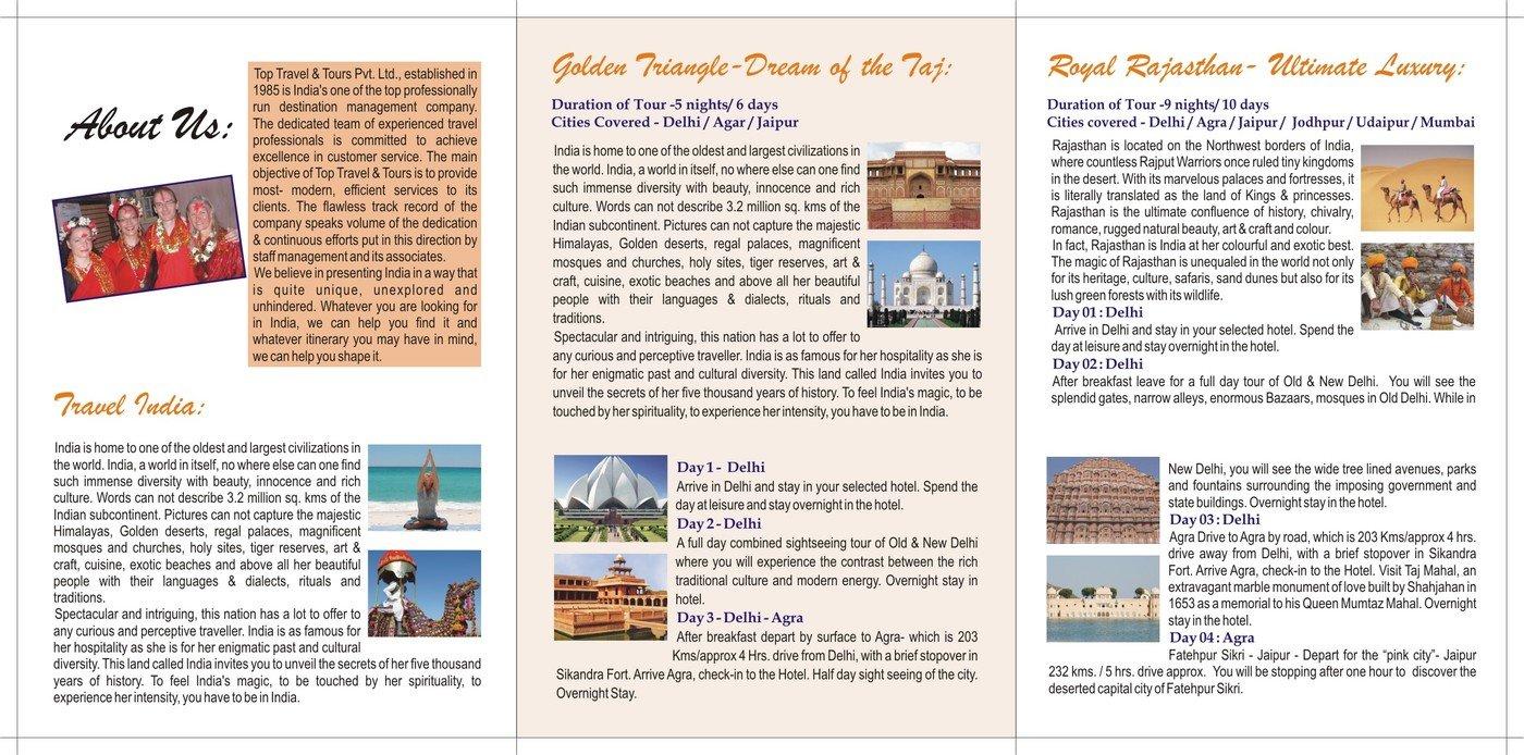Brochures By Soummya Bhatia At Coroflot Com