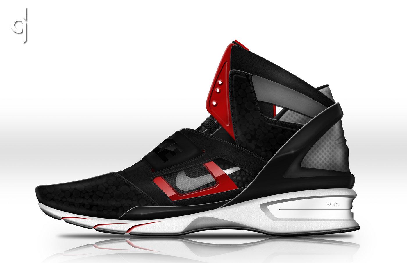 Nike Huarache Beta - I call it the Nike Huarache Beta. Beta because of the  Beta heel. The heel is made of Beta Gel which is a high-shock absorbing  material.