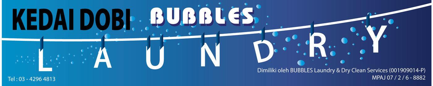 Bubbles Laundry Sign Board