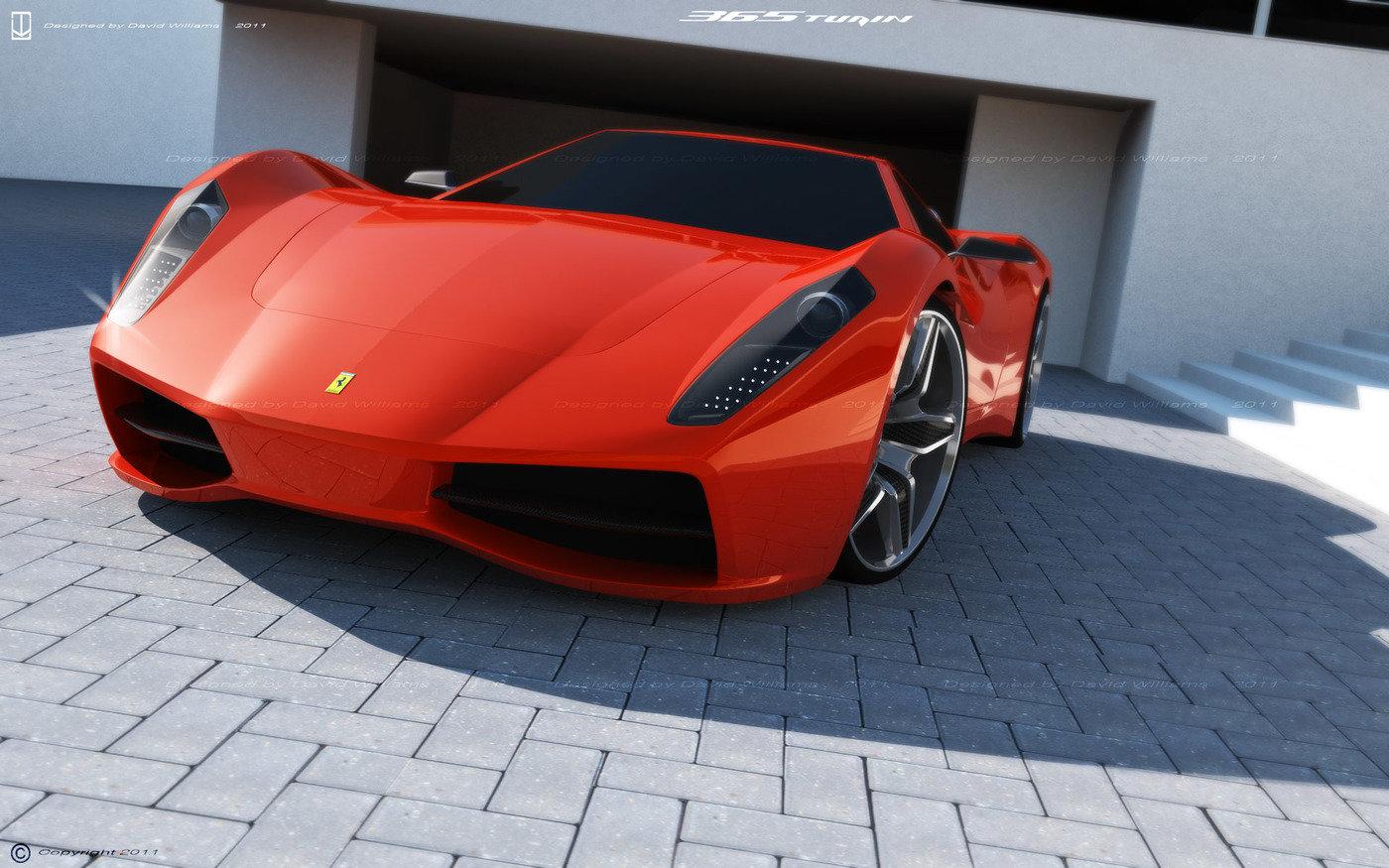 2011 concept supercars by David Williams at Coroflot.com