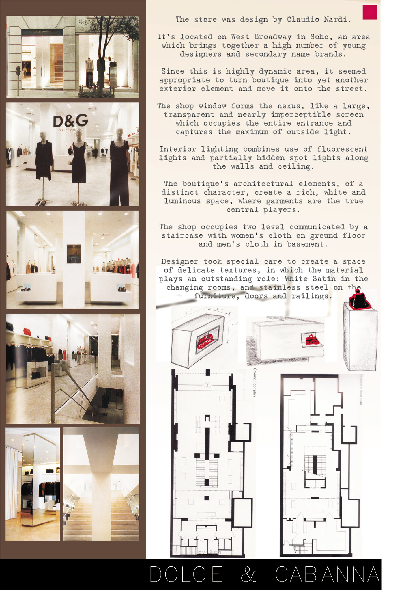 Presentation posters graphic design skill set by - Interior design students for hire ...