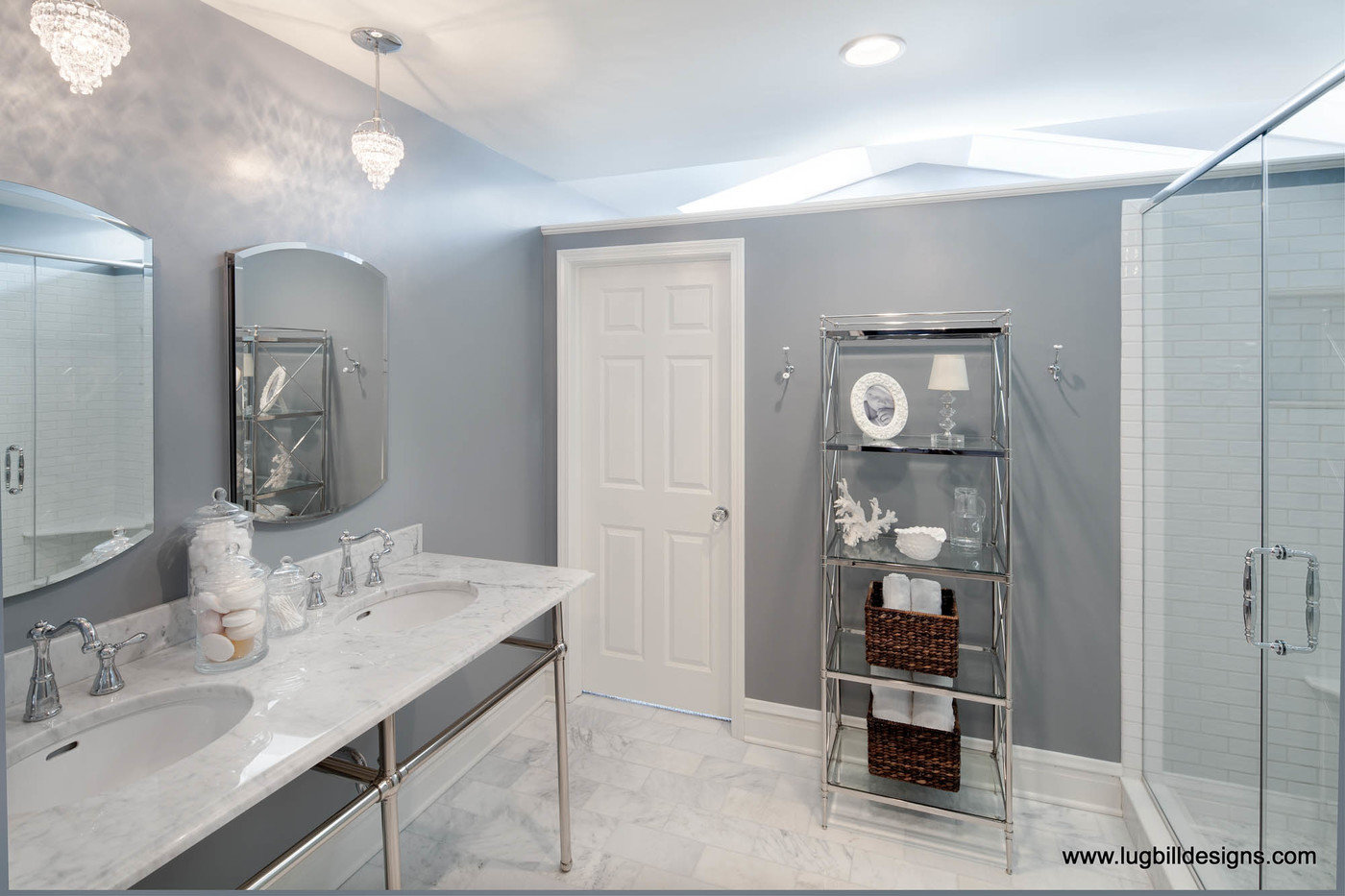 Designer Bathrooms By Erica Lugbill Lugbill Designs At