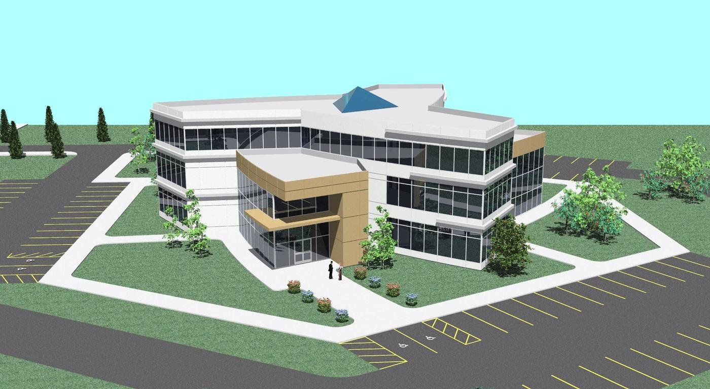 Office Building Design By Dan Sample At