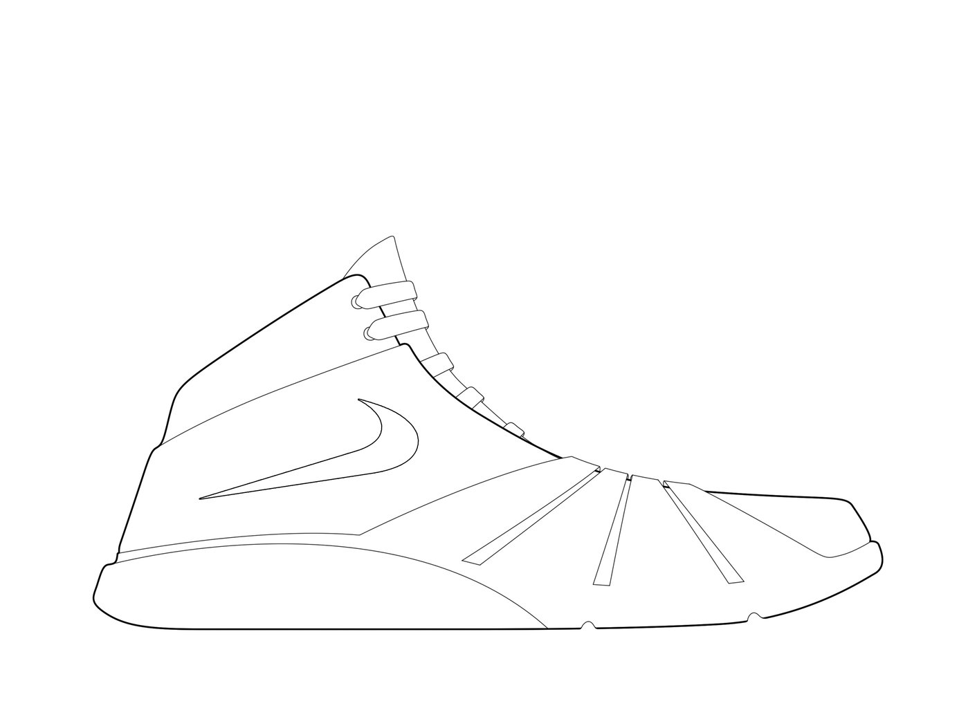 Photoshop rendering tutorial by matthew walters at coroflot ps rendering tutorial step 2 line work 1 with the pen tool in either ps or ai i use ps trace every line of your shoe baditri Image collections