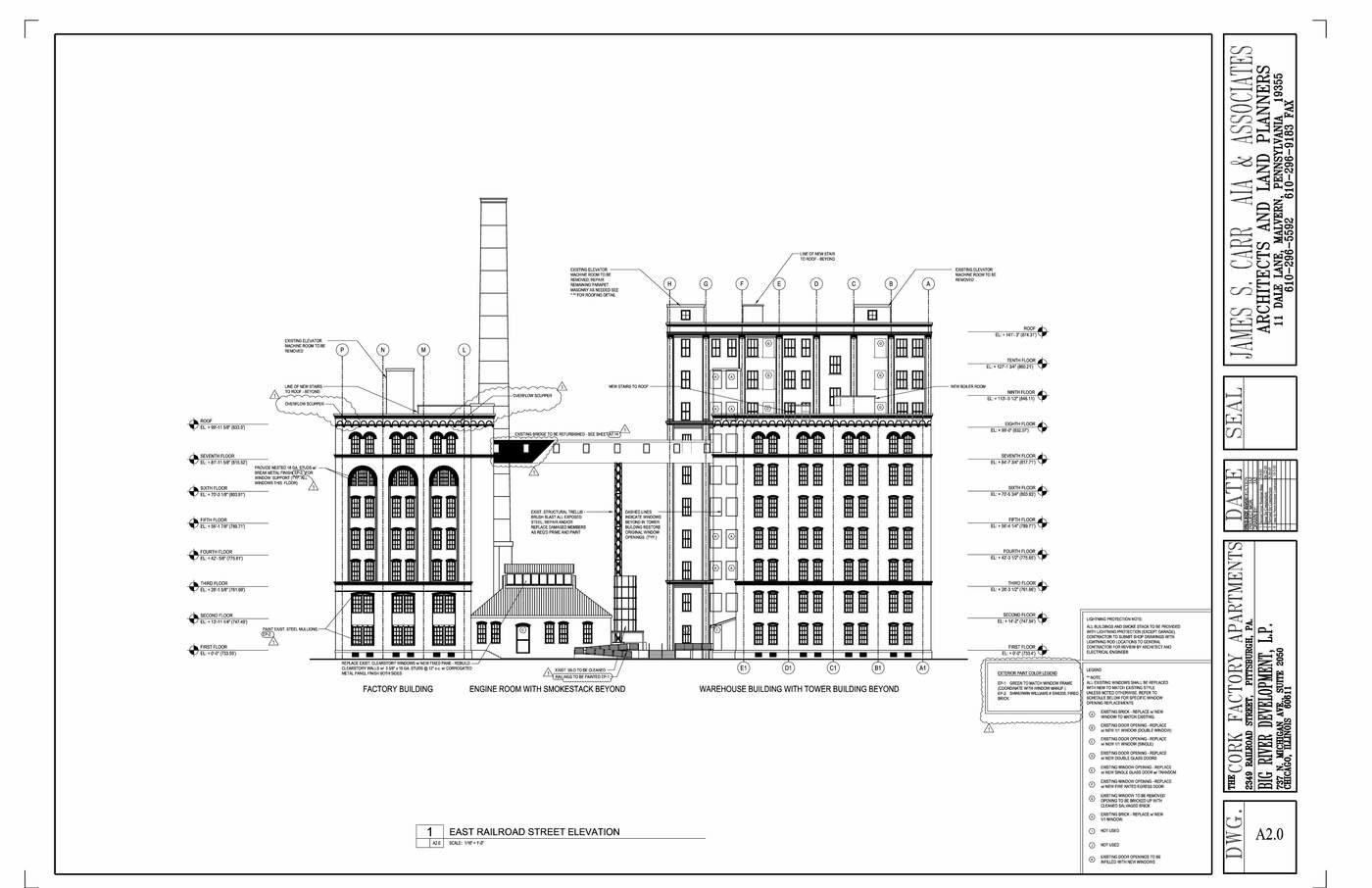 Warehouse Floor Plans With Elevations Floor Plan