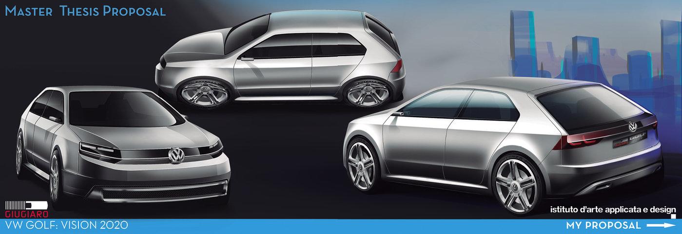 Volkswagen Golf 2020 By I 241 Igo Onieva Molas At Coroflot Com