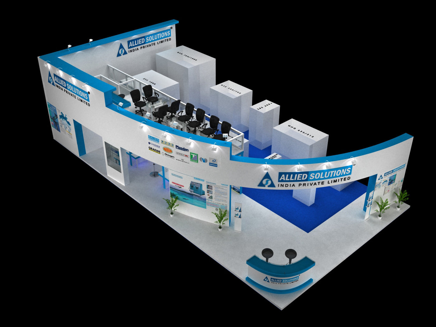 Exhibition Stall Design Coroflot : Exhibition stall designs by dnyansagar sapkale at coroflot