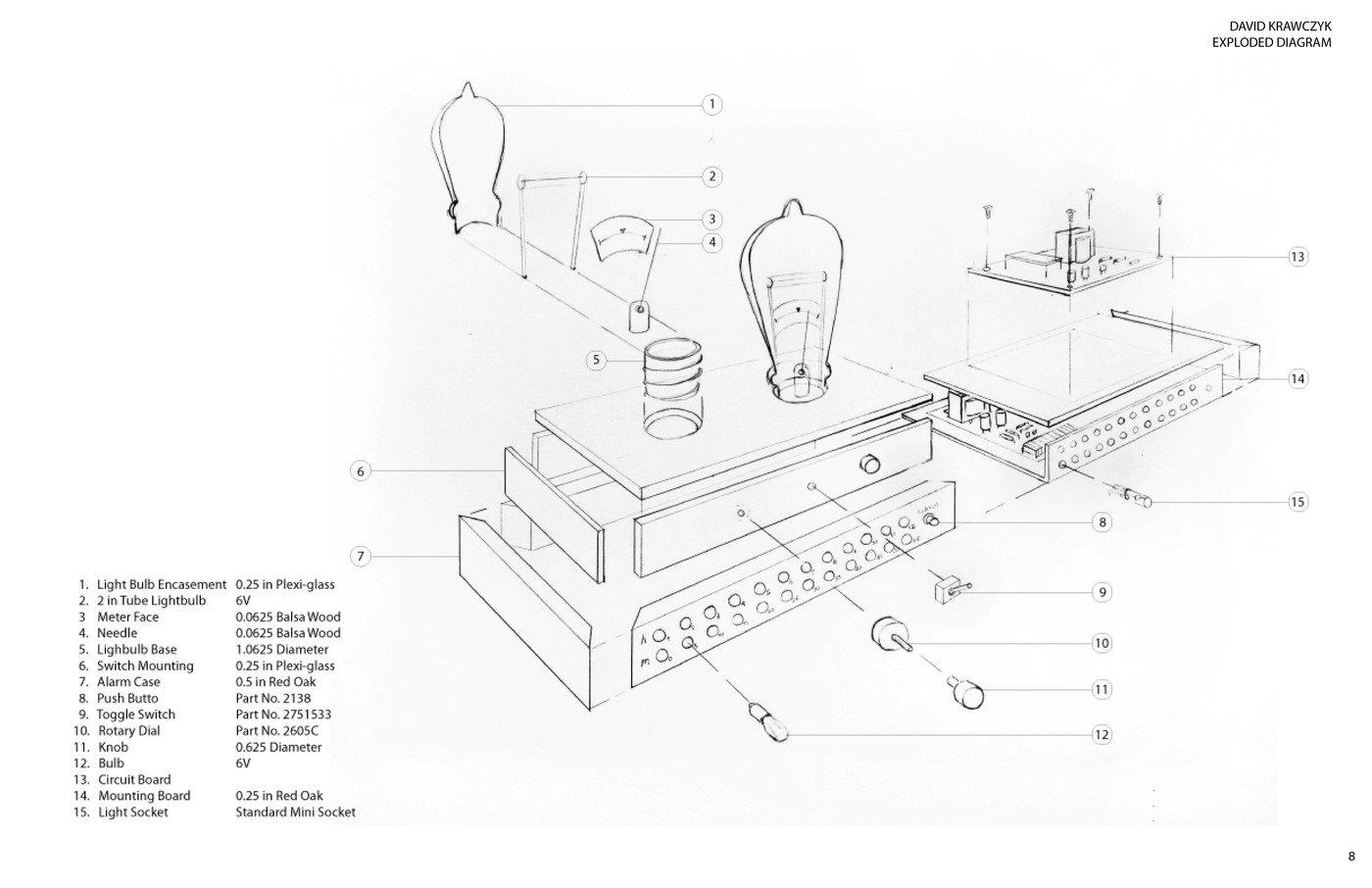 the edison alarm clock by david krawczyk at coroflot com