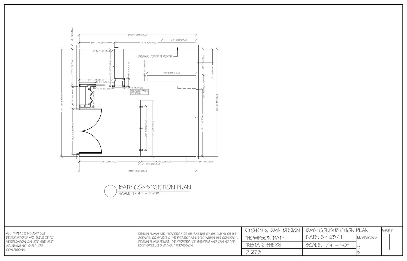 Construction Bathroom Plans kitchen and bath designkrista lackey at coroflot