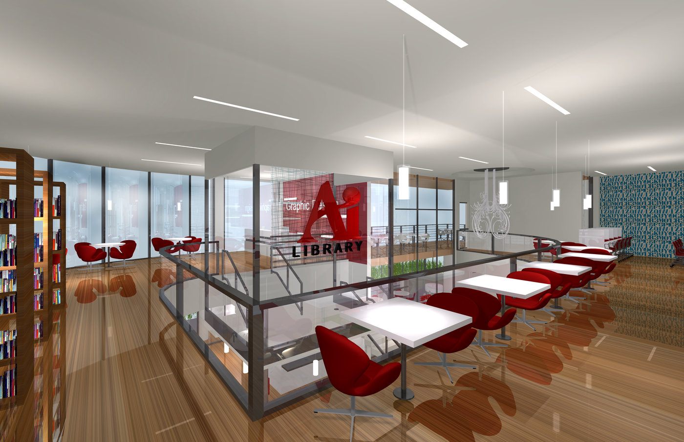 Institutional design by lucina ortiz at - Interior design jobs in california ...