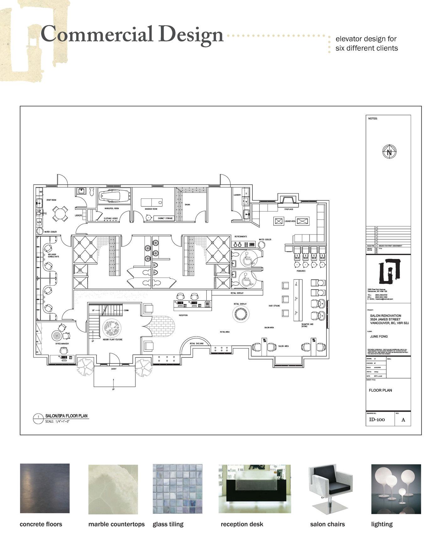 Floor plan auditor cover letter