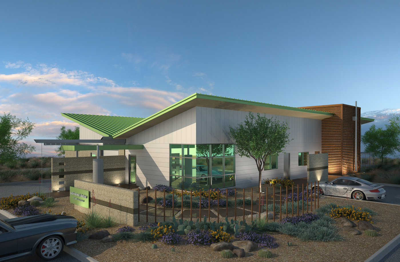 Project renderings for the city of guymon by aaron smithey for Shelter studios