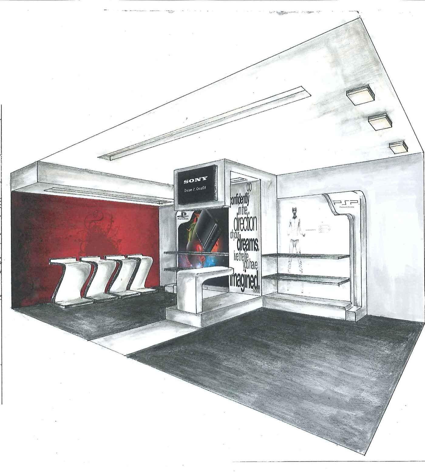 Kitchen Interior Perspective: Interior Render 2010 By Joy Ezeka At Coroflot.com