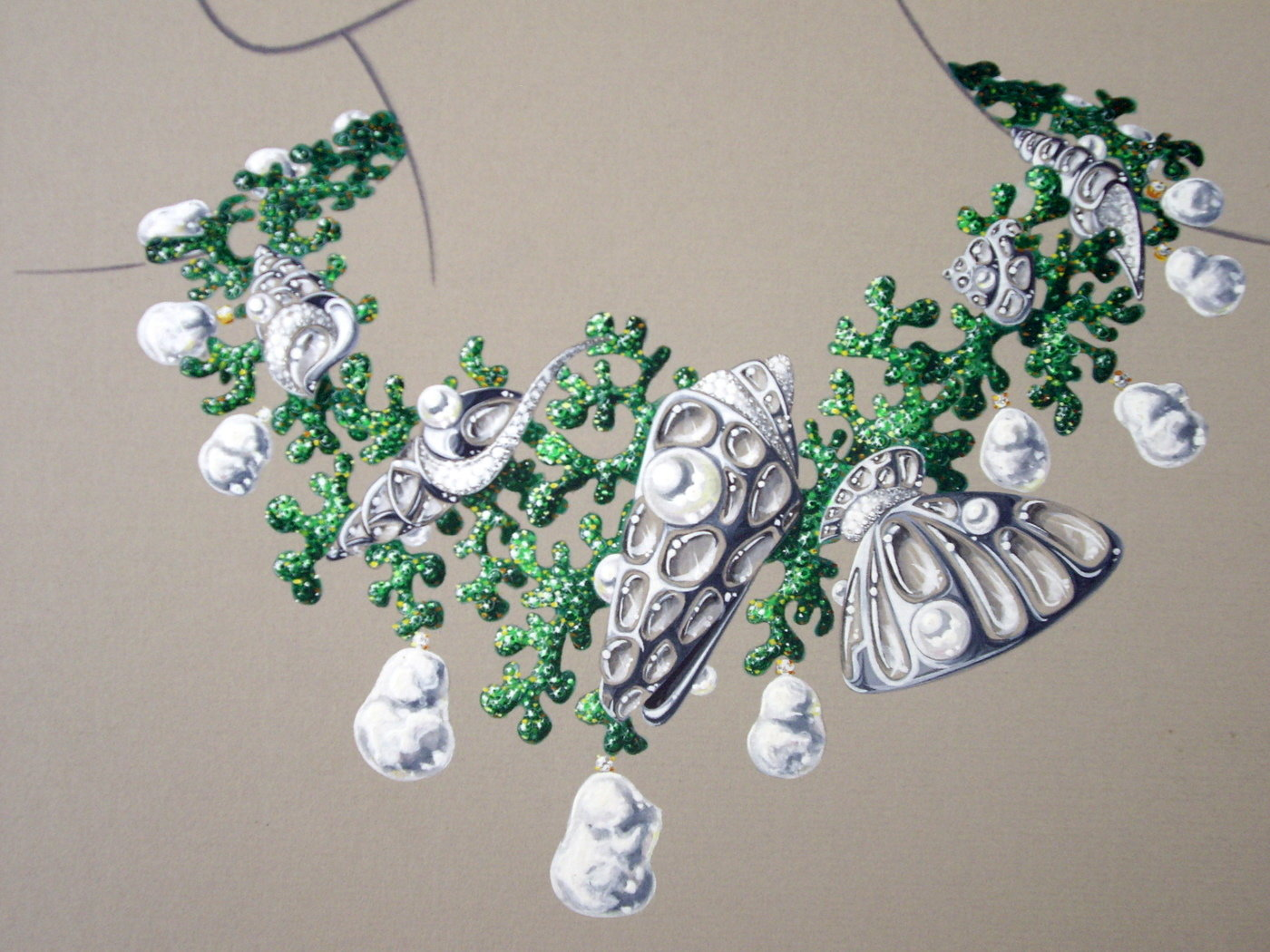 AWARDS International Pearl Jewellery Design Contests by Thierry