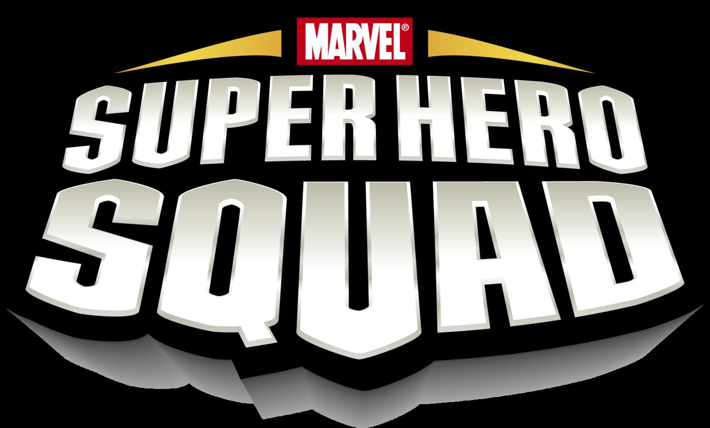 Marvel Super Hero Squad Logo Design, Branding, Package ...