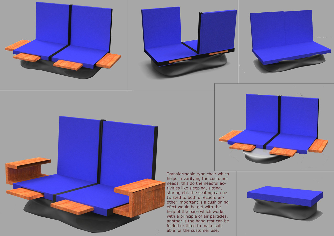 Concept Transformable Furniture   Modern Transformable Furniture Helps In  Providing Our Satisfying Needs In A Comfortable Way.