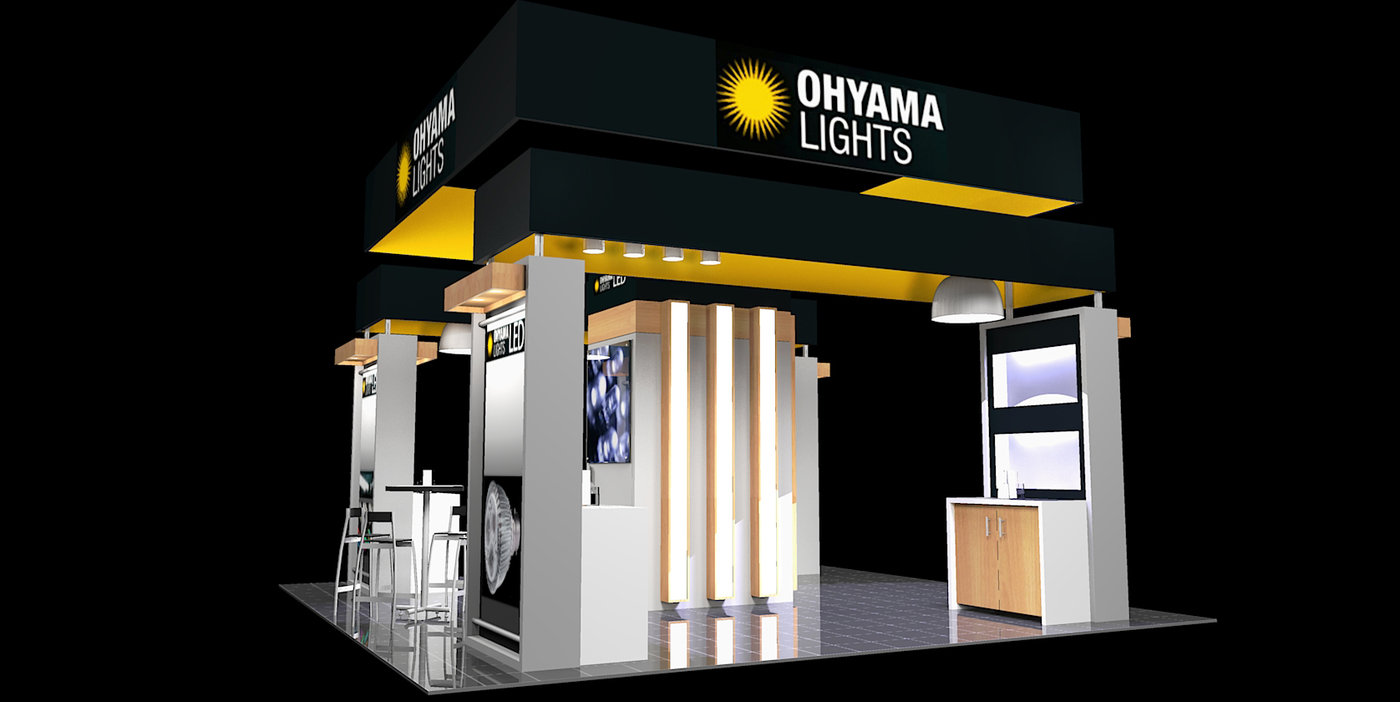 Exhibition Booth Lighting : Tradeshow and exhibit design by christopher m vela at