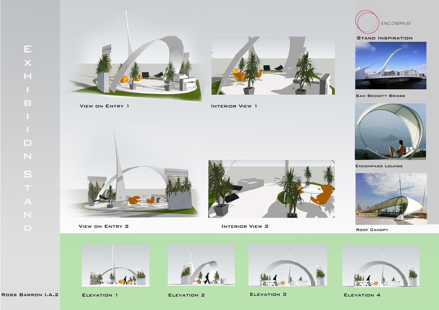 Exhibition Stand Design Presentation : Presentation boards by ross barron at coroflot