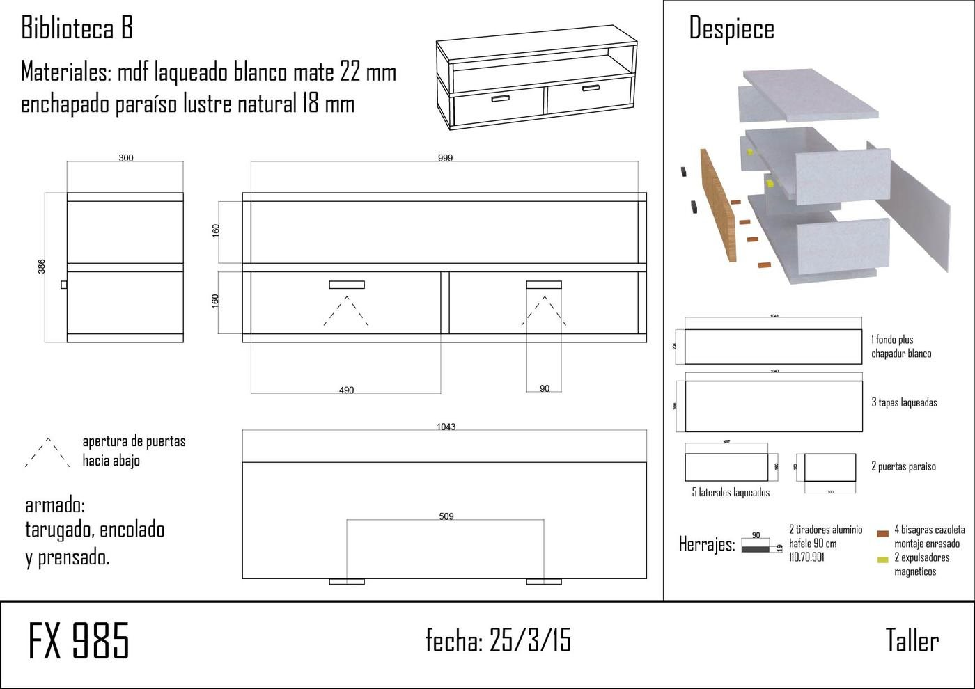 Muebles Hormiga Emergente By Evelyn Moran At Coroflot Com # Muebles Ficha Tecnica