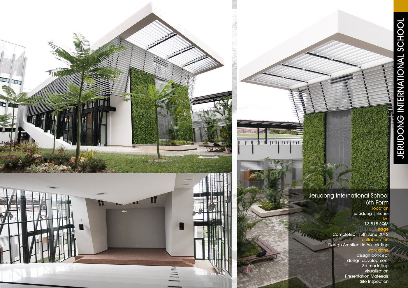 The Jerudong International School (JIS) 6th FORM Is One Of The First Green  Building In Brunei Darussalam, The Design Takes Form Blending From The ...