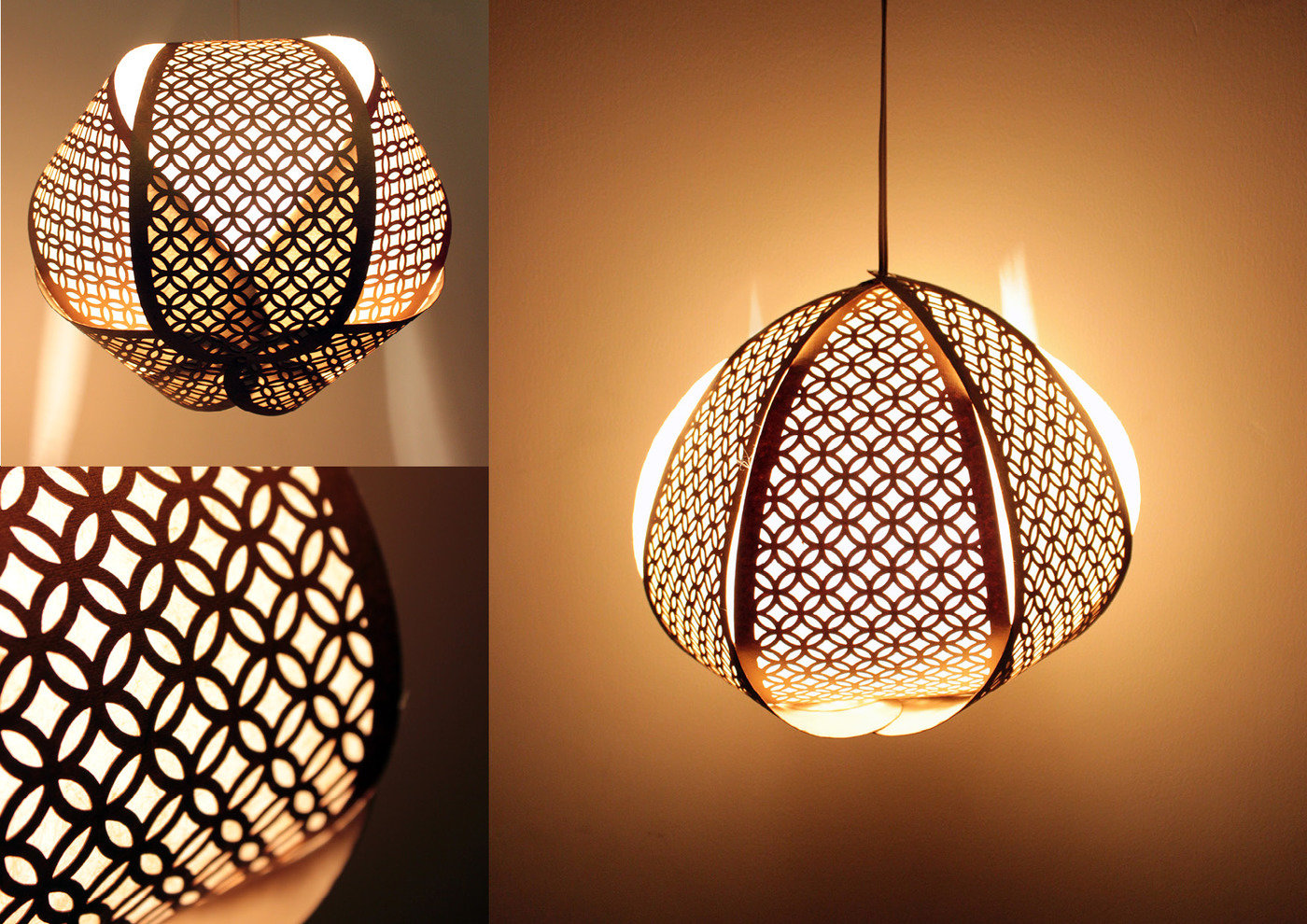 Paper lighting home decor products for diwali by priya pakad at the petals have a laser cut jaali pattern layered from behind with a textured handmade paper the design was explored in two different sizes large pendant arubaitofo Gallery