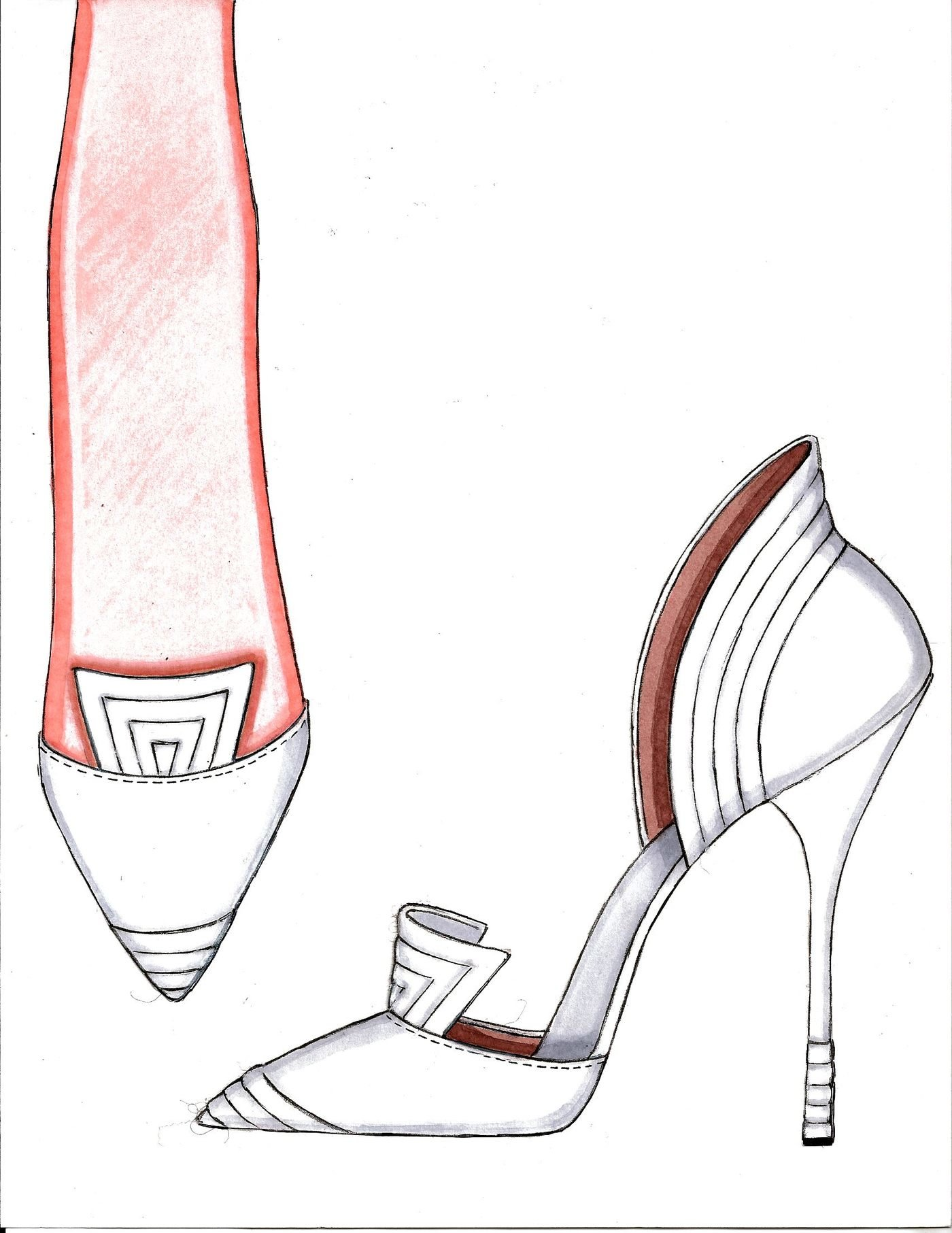 M: bratz fashion designer Fashion sketches of shoes