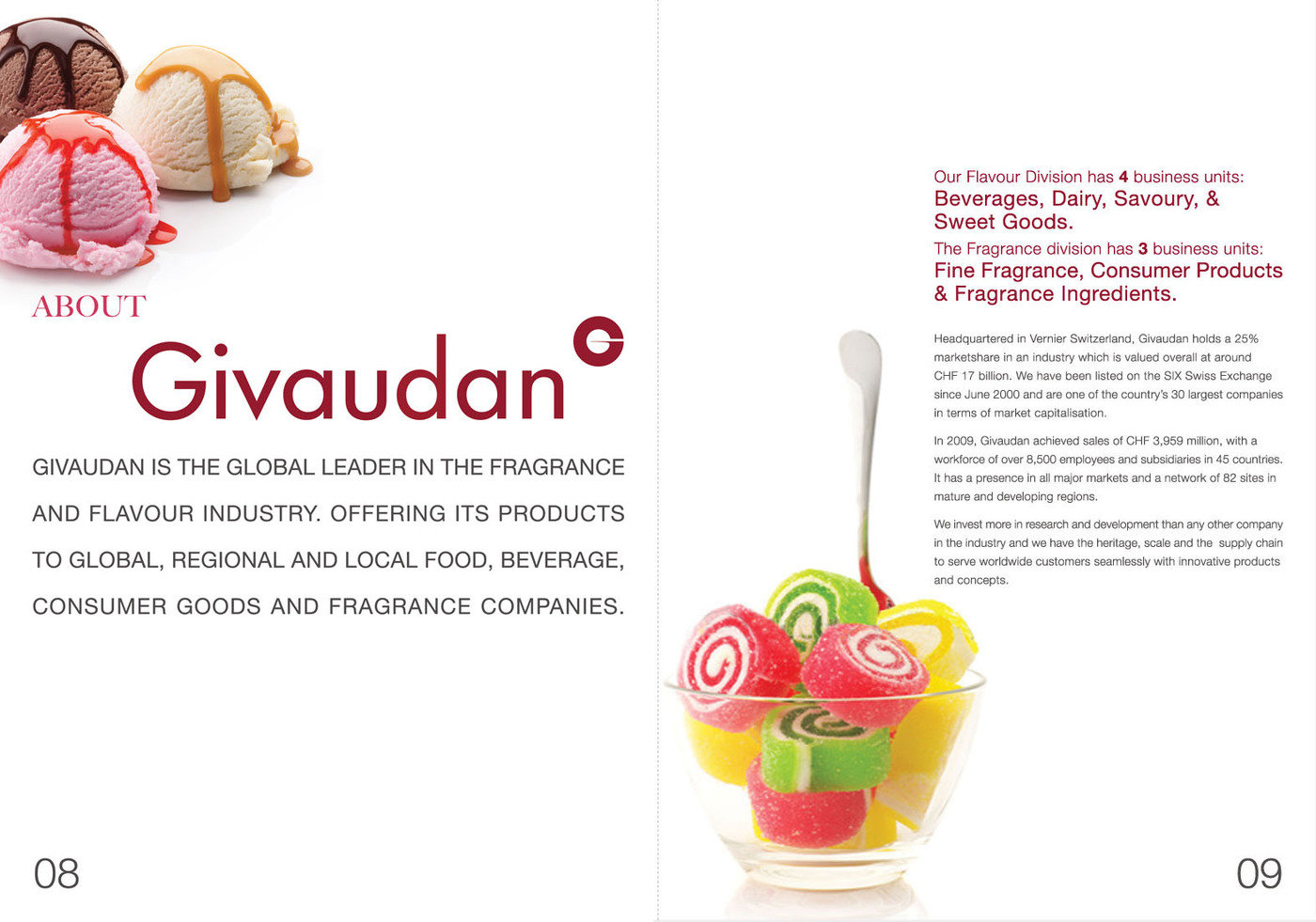 case givaudan flavors