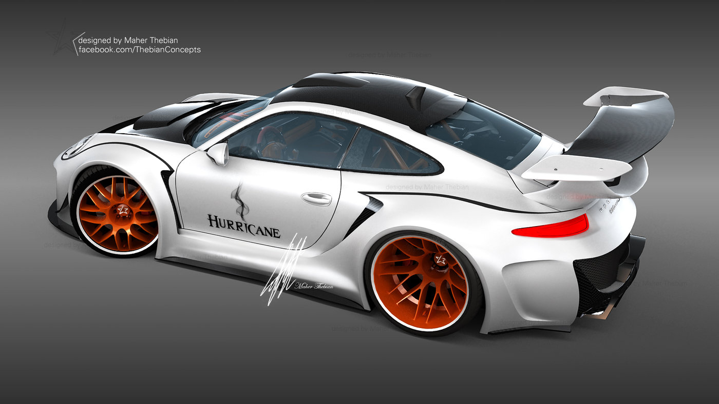 Porsche Hurricane Sports Package By Maher Thebian At