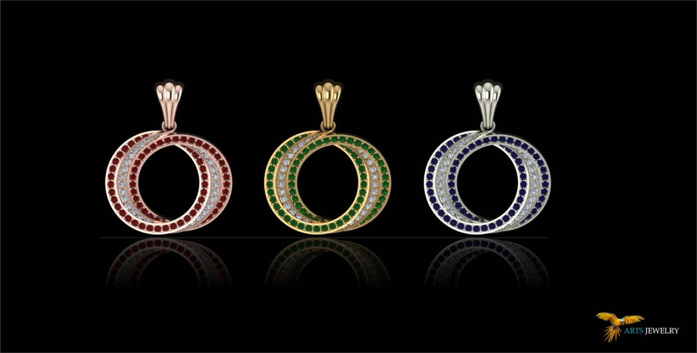 3D Jewelry 2015 by Babut Florin Valentin at Coroflotcom