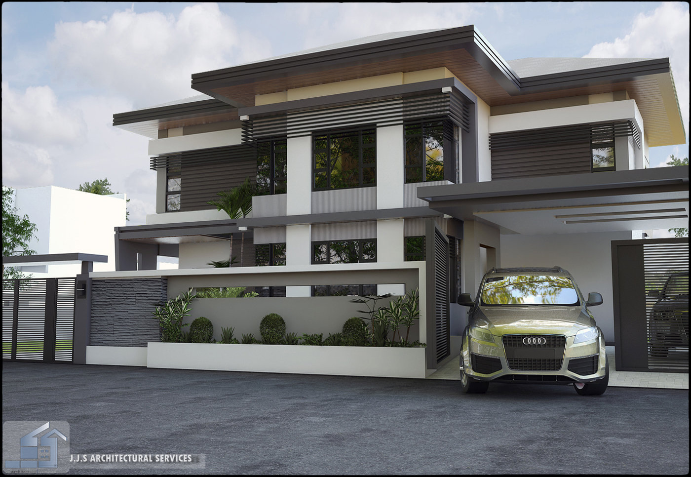 Orani bataan 2 storey residential house by j j s for Two storey residential house design