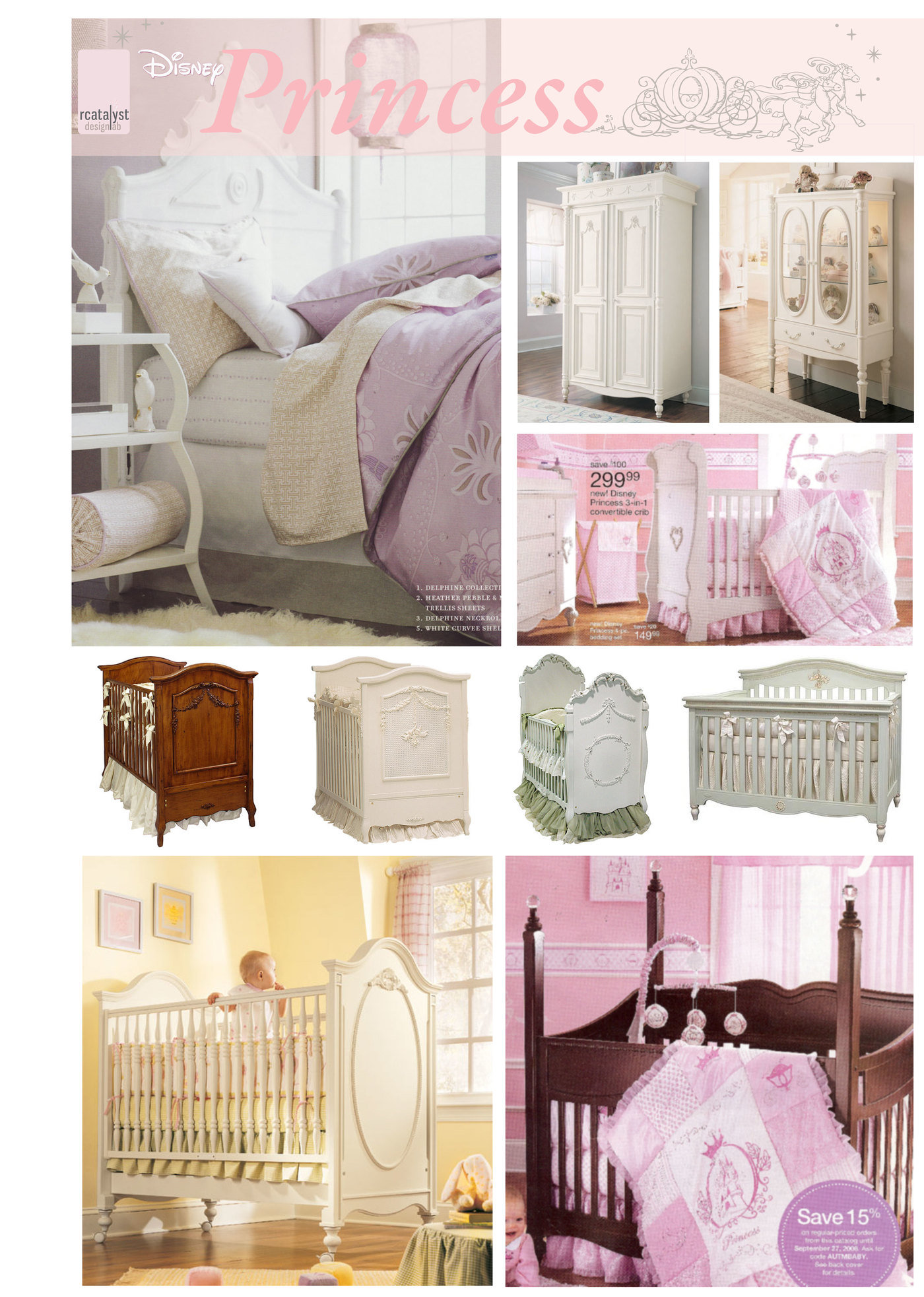 Process to Production Disney Infant Furniture by Rachel Dacks at