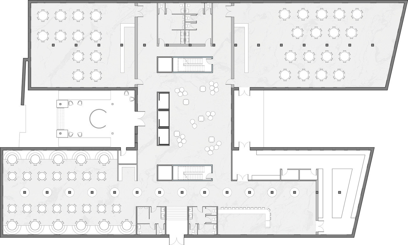 FIRST FLOOR PLAN Lobby Restaurant Bar Lounge Event Space