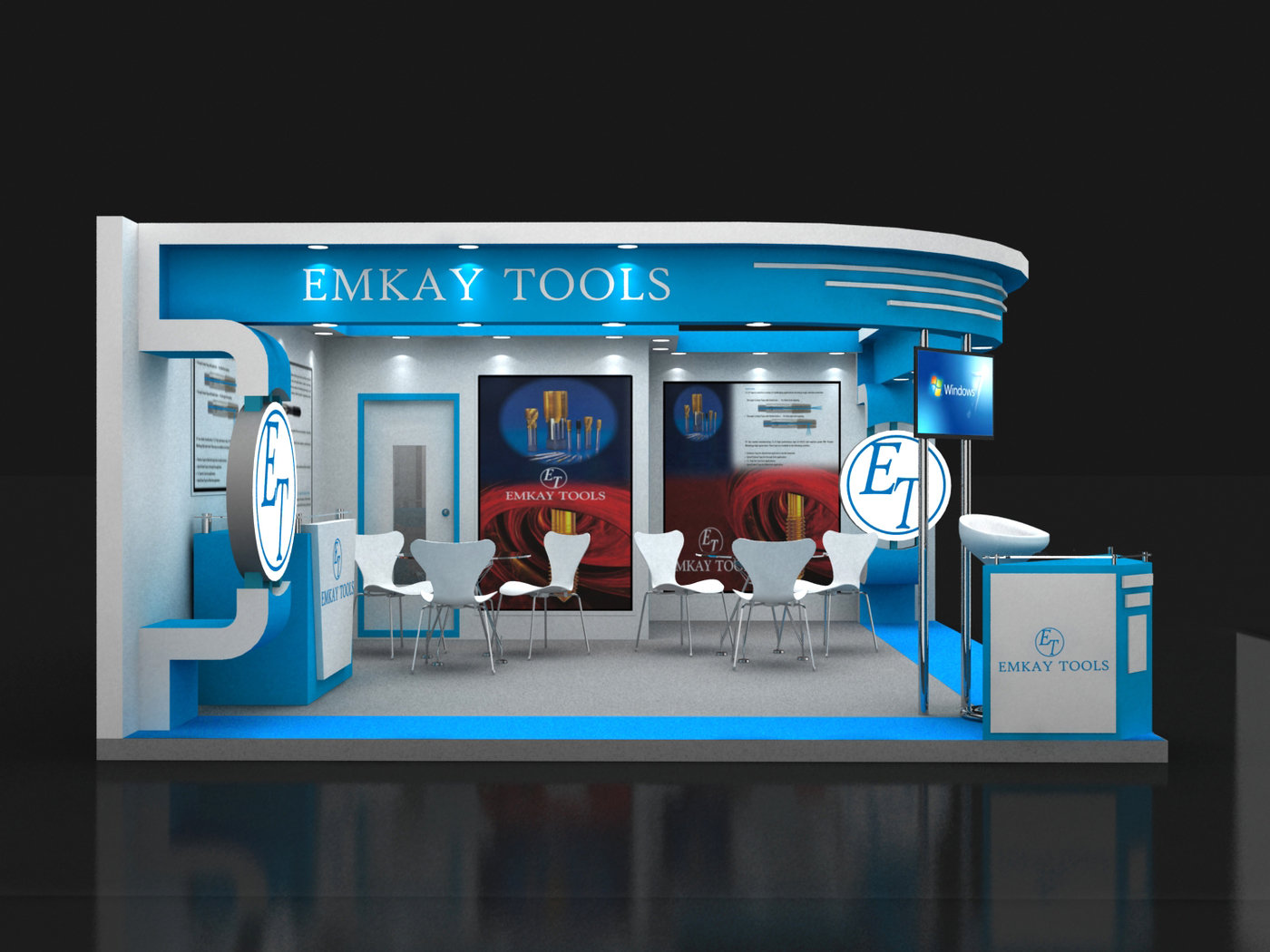 Exhibition Stall Designer Job : Exhibition stall design by vaibhav shantaram jadhav at