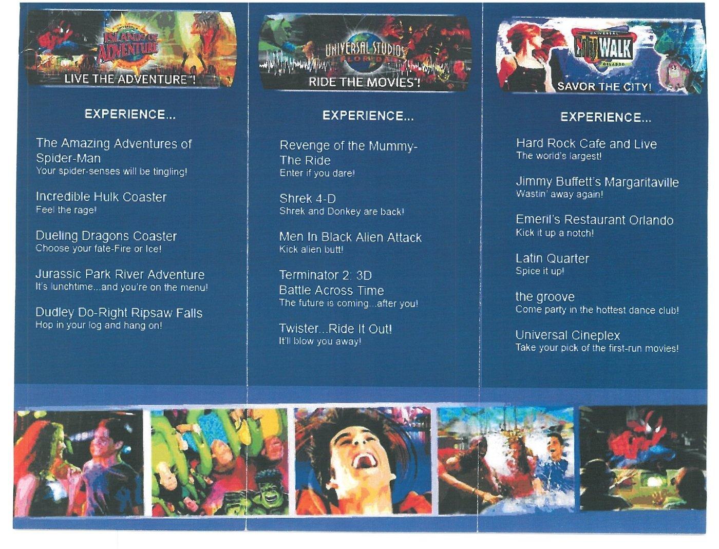 Universal Orlando Resort Brochure By David Qui 241 Ones At