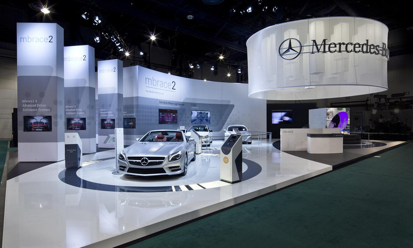 Mercedes Benz Ces Exhibit By Joe Tedesco At Coroflot Com