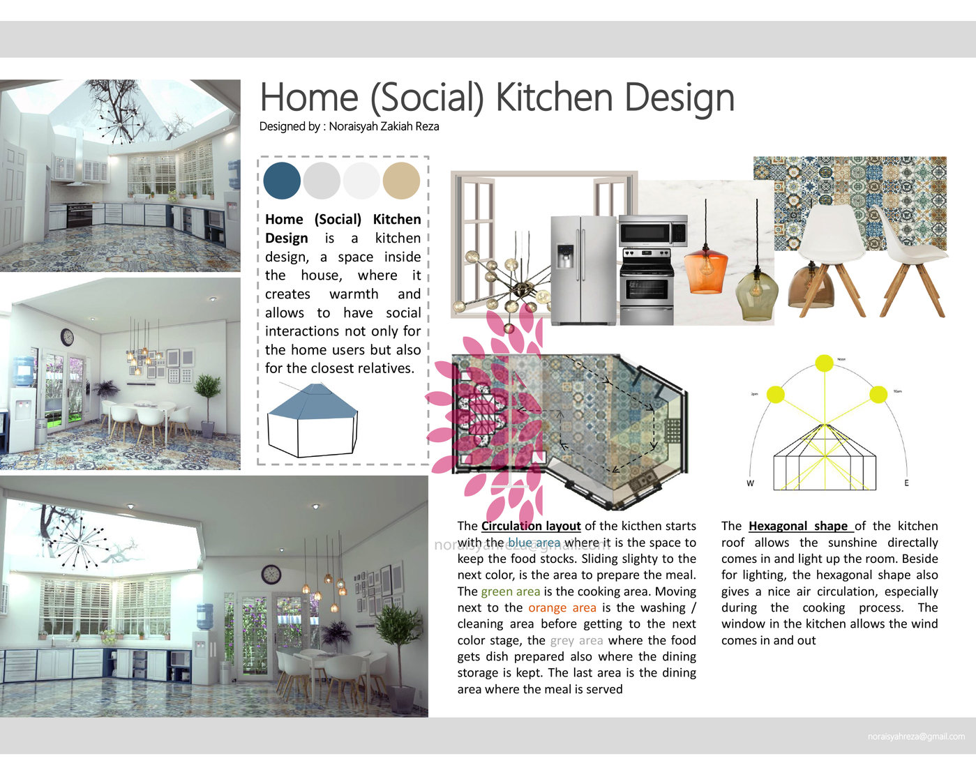 Social Kitchen Competition by Noraisyah Zakiah Reza at Coroflot.com
