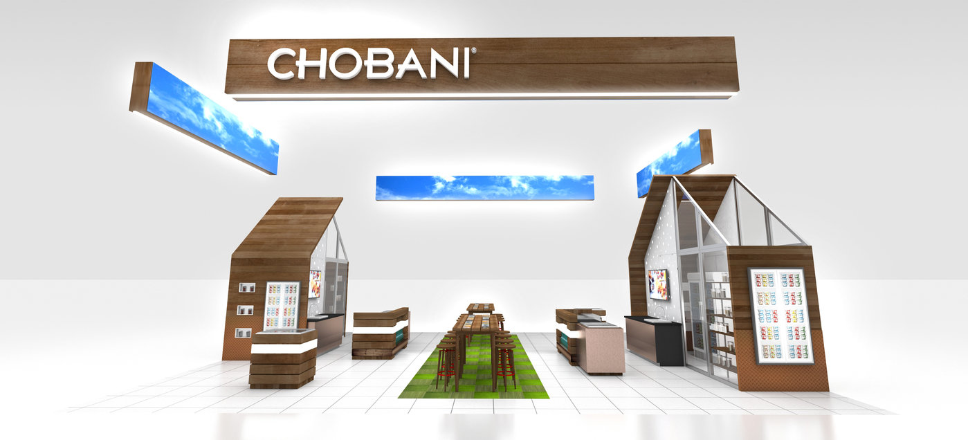 Chobani Farmhouse Event Design by Jason Zavala at Coroflot.com