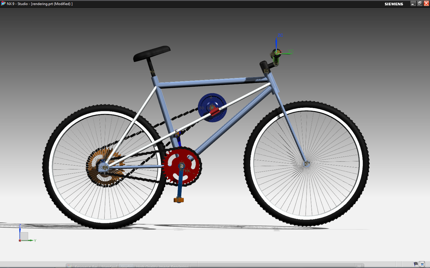 Kinetic energy recovery system bicycle by dikshith m e at coroflot sciox Image collections