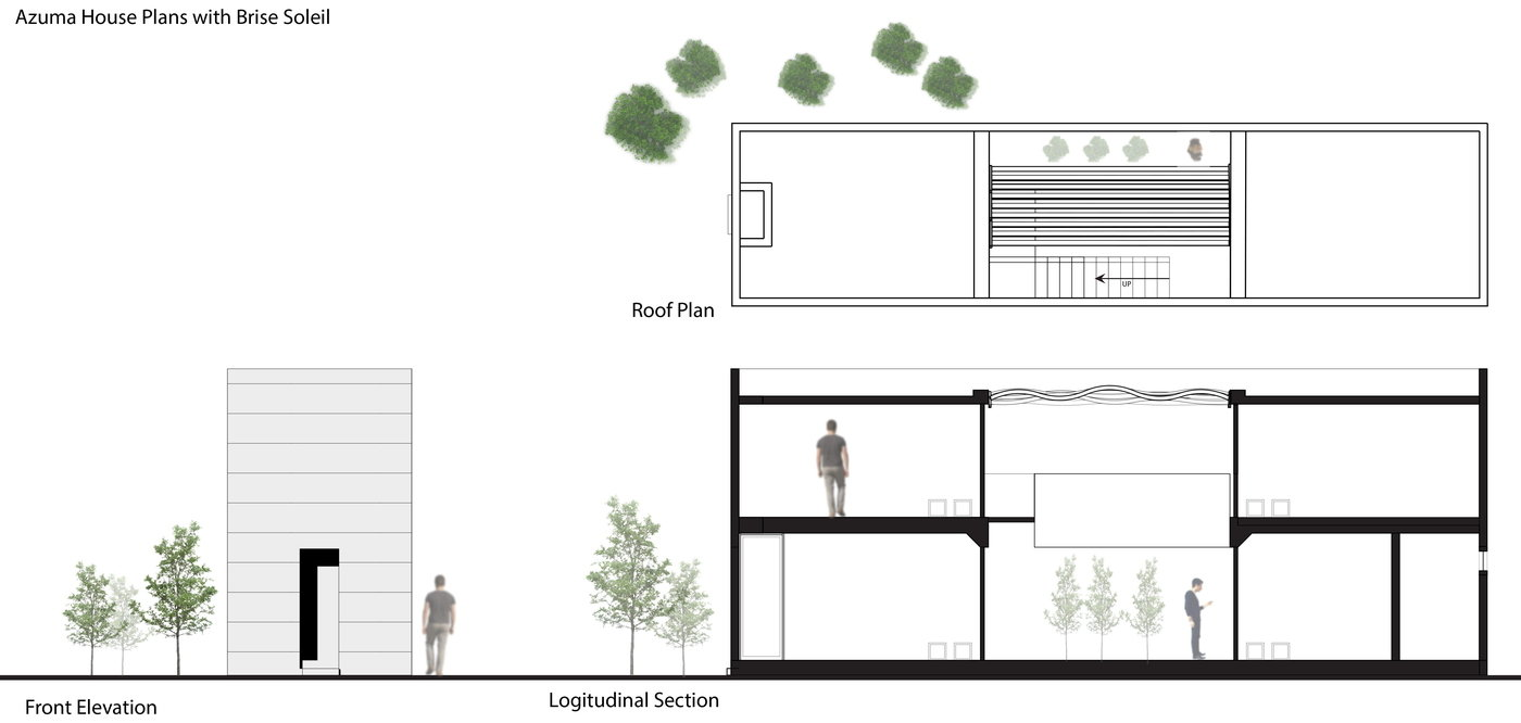 azuma house site plan