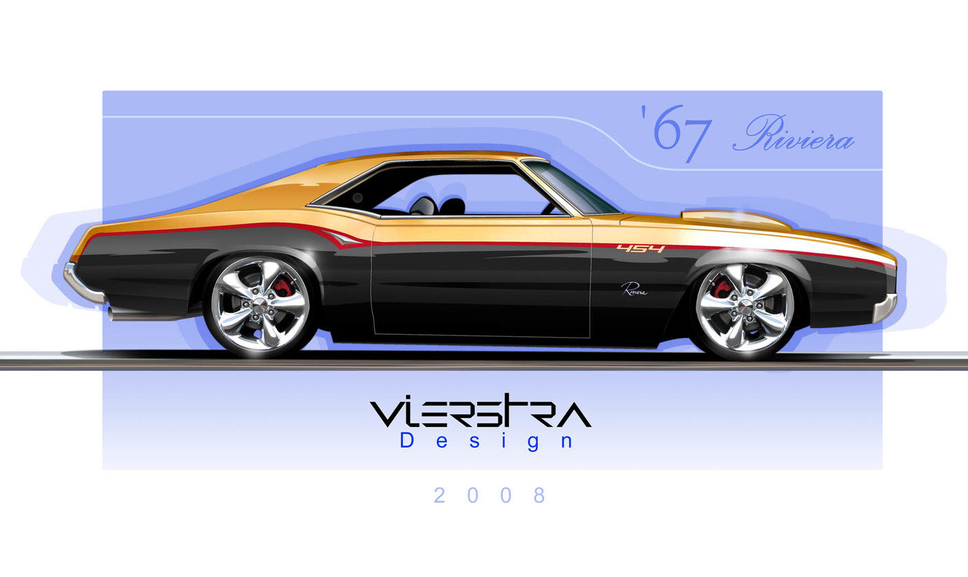 1960 Chevy Impala Drawing