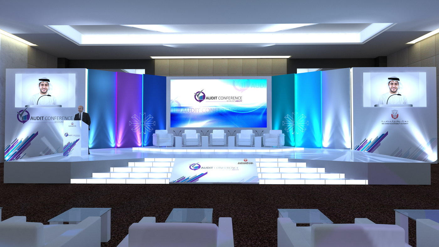 Adaa Conference Stage Setup Design By Rahul Sharma At