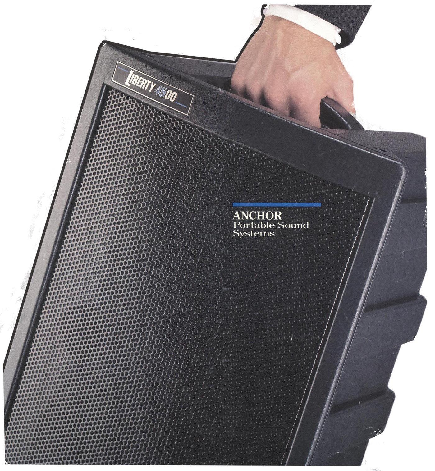 anchor audio loudspeaker system by kraig kooiman at coroflot com